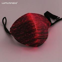 luminous black mask for DJ music festival