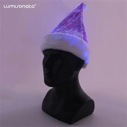 Luminous Santa Christmas Hat led glowing