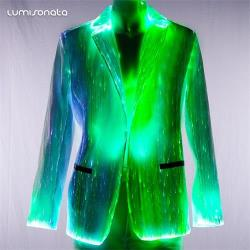 mens custom led Jacket