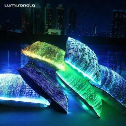 fiber optic pillow case 7 color changeable