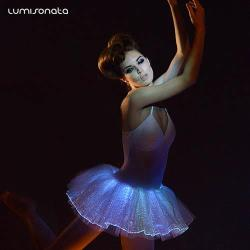 led tutu dress with color changeable
