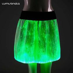 Glow in the Dark short skirt for Christmas party