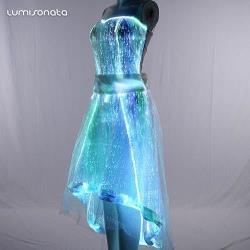 halloween dress with led lighting