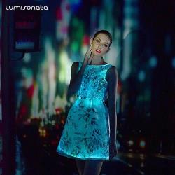 light up party prom dress