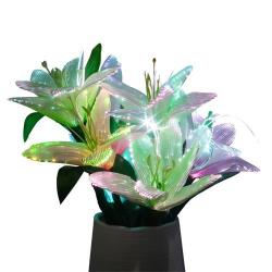 preserved flower with rgb color changeable