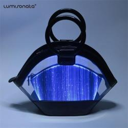 luminous Led party Men hand bag