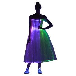 women sexy party dress led costume