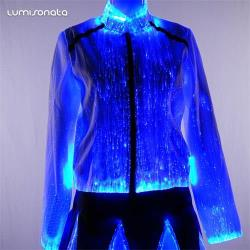 2020 Hot sale led light up jacket women