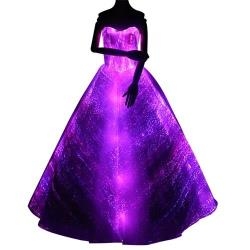 changeable led dress Christmas party wear
