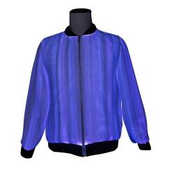 New arrival luminous men Jacket with led light