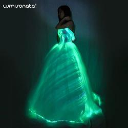 new arrival led wedding dress with best price