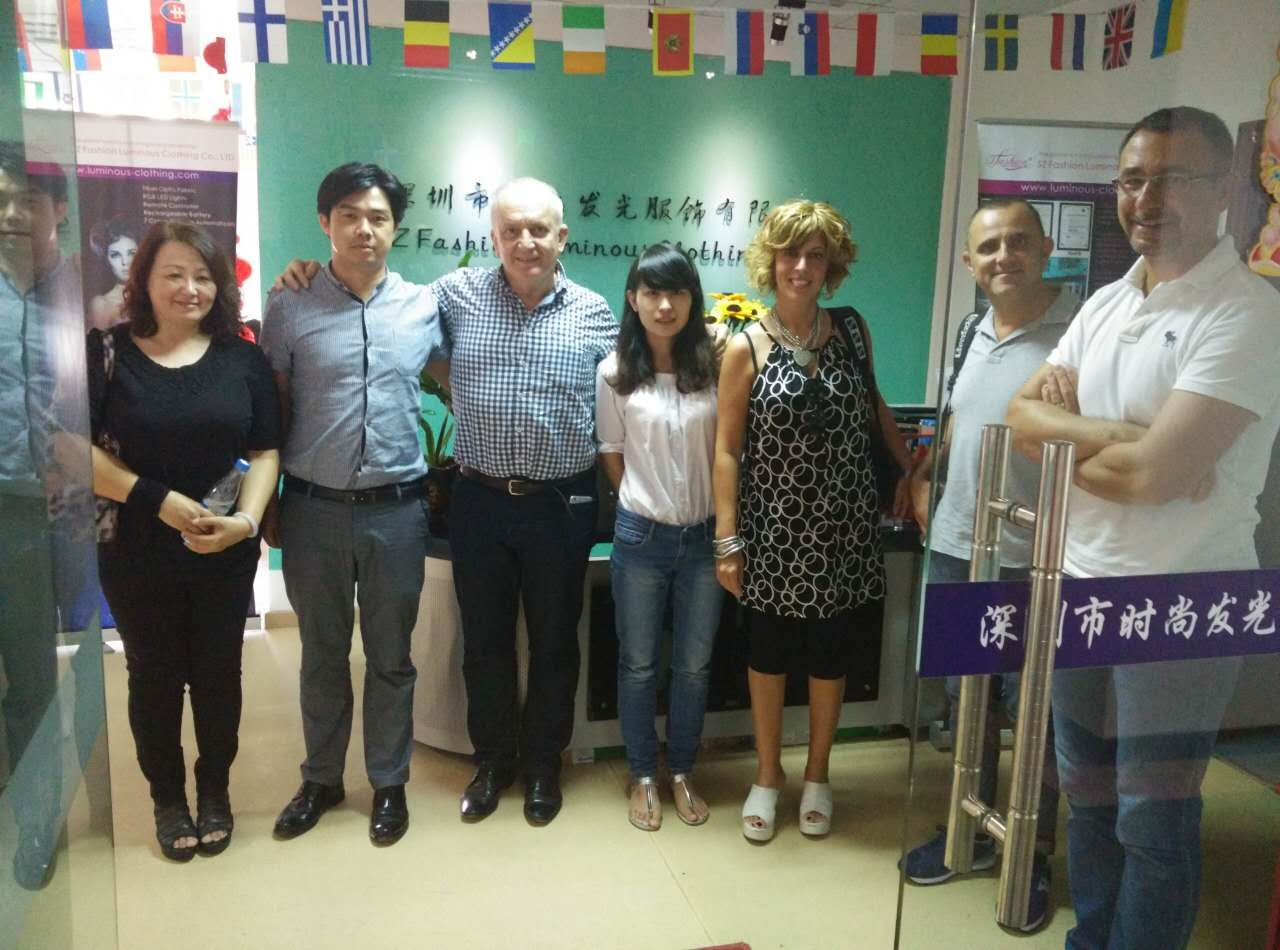Clients from HK and Italy
