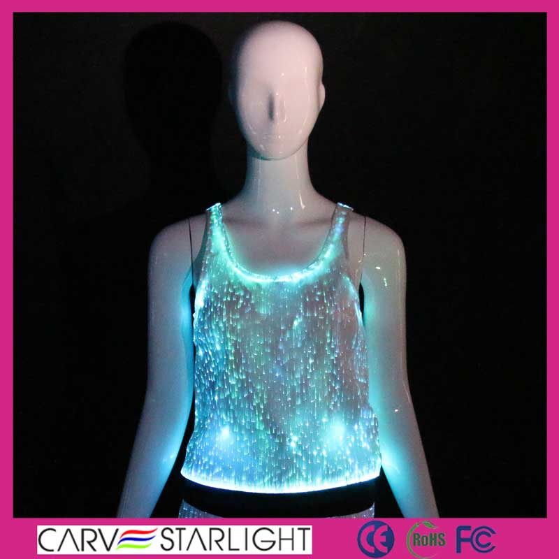 light up top, sexy tops, sexy clubwear, lady top, led costume