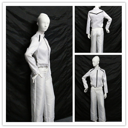 women jacket and pant set, light up costume, women led costume