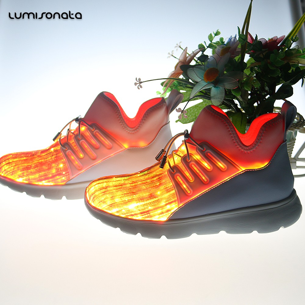 ca021a2f06054 Glowing casual Shoes with USB rechargeable -YQ-117