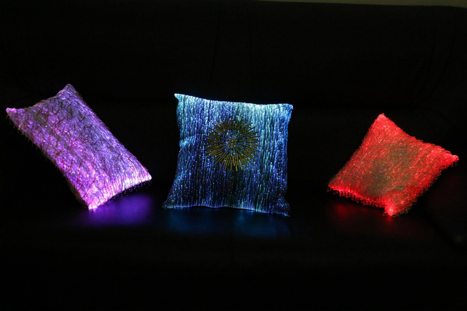 fiber optical fabric, fiber optic fabric, luminous fabric, led lighted fabric