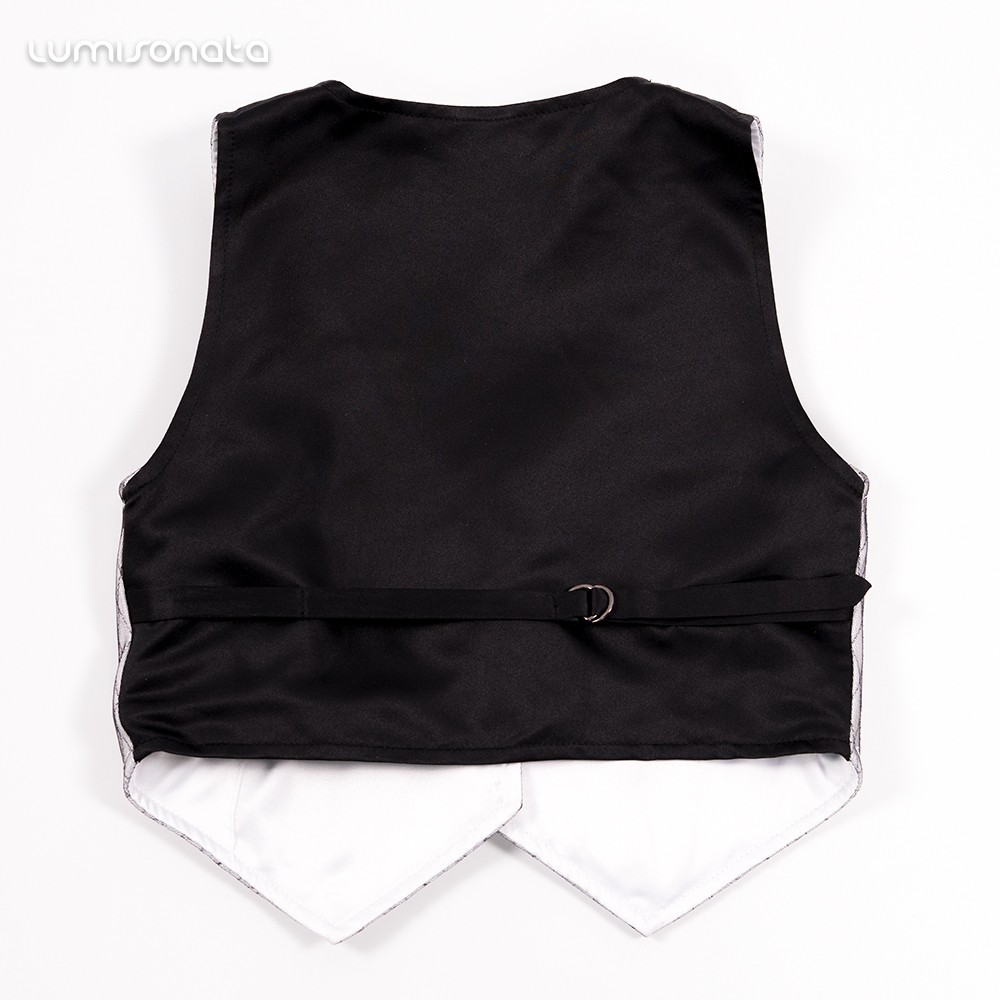 luminous boys vest,glowing formal wear boys vest,led fiber optic vest
