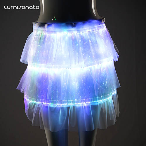 Party Skirts Glow in the Dark