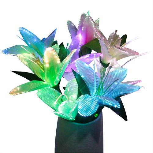 Christmas led optical luminous decorative flower
