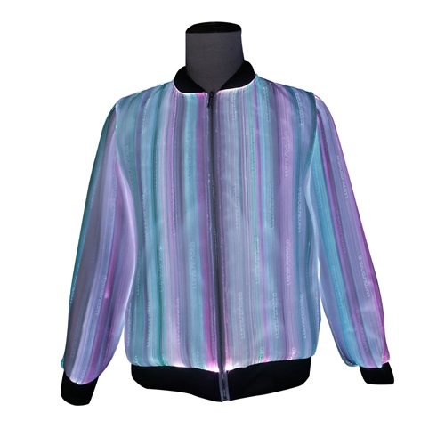 2020 Spring New arrival luminous men Jacket with led light